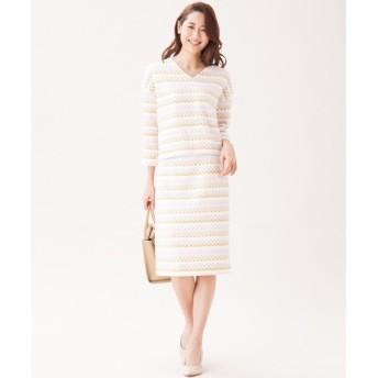 S size ONWARD(小さいサイズ) / エスサイズオンワード 【セットアップ対応】TOURNIERファンシーツイード スカート