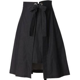 Maglie L / マーリエ (エルサイズ) ラップセパレートフレアスカート