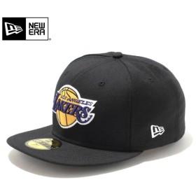 セール20%OFF!【メーカー取次】 NEW ERA ニューエラ 59FIFTY NBA ロサンゼルス・レイカーズ ブラック 11308590 キャップ ブランド