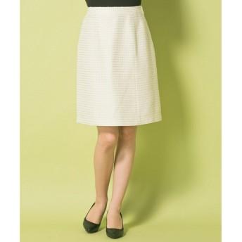 any SiS / エニィスィス 【セットアップ対応】ロイヤルボーダーツイード スカート