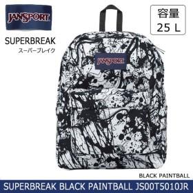 ジャンスポーツ jansport  リュック SUPERBREAK BLACK PAINTBALL JS00T5010JR