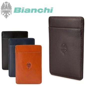 ビアンキ Bianchi パスケース 1506 ヴェルデ 定期ケース マルチケース レザー IDケース [PO10]