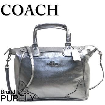 COACH コーチ ハンドバッグ ミッキー グレーン レザー サッチェル F34040