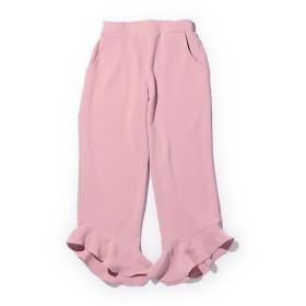 ROSE BUD / ローズ バッド 裾フリルクロップドパンツ