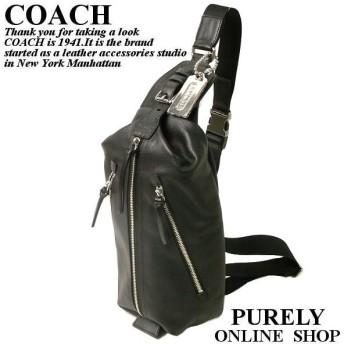 COACH コーチ レザー スリングパック 70360