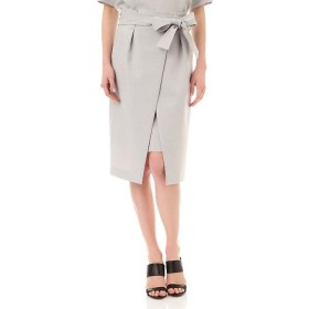 PINKY & DIANNE / ピンキーアンドダイアン [Oggiコラボ商品]リボンベルト付きラップ風スカート