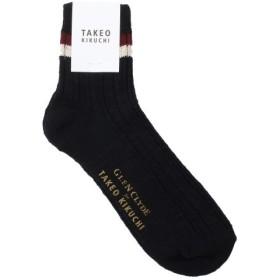 TAKEO KIKUCHI / タケオキクチ GLEN CLYDE12cmラインカラーソックス [ メンズ 靴下 ]