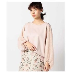 ROSE BUD / ローズ バッド 袖シャギープルオーバー