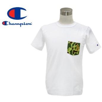 CHAMPION REVERSE WEAVE T-SHIRT チャンピオン リバース ウィーブ Tシャツ WHITE/CAMO