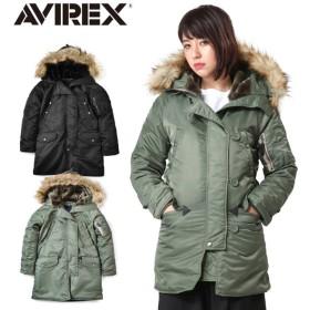 AVIREX アビレックス 6252053 レディース COMMERCIAL N-3Bフライトジャケット ミリタリージャケット ジャンパー ブランド【クーポン対象外】