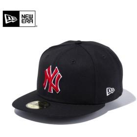 セール15%OFF!【メーカー取次】 NEW ERA ニューエラ 59FIFTY MLB ニューヨーク・ヤンキース ブラックXレッド ホワイトアウトライン 11308567 キャップ