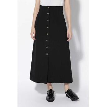 ROSE BUD / ローズ バッド フレアボタンダウンスカート