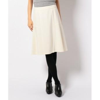 S size ONWARD(小さいサイズ) / エスサイズオンワード プロヴィスコットンリップル スカート
