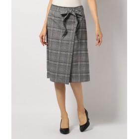 J.PRESS / ジェイプレス T/Rグレンチェック スカート