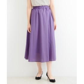 NIMES / ニーム 綿ローン ロングスカート