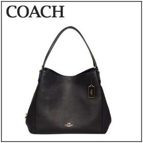 コーチ COACH ショルダーバッグ EDIE SHOULDER BAG 33547 LIBLK(ブラック)肩掛けバッグ