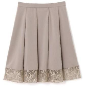 PROPORTION BODY DRESSING / プロポーションボディドレッシング  ヘム シアーレーススカート