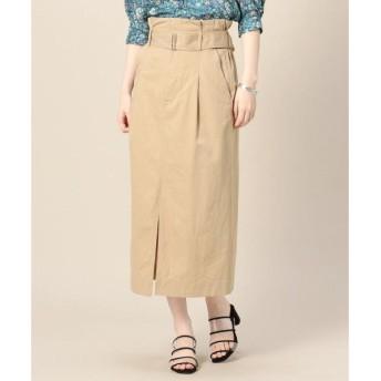 BEAUTY&YOUTH UNITED ARROWS / ビューティ&ユース ユナイテッドアローズ BY ベルト付きツイルタイトスカート