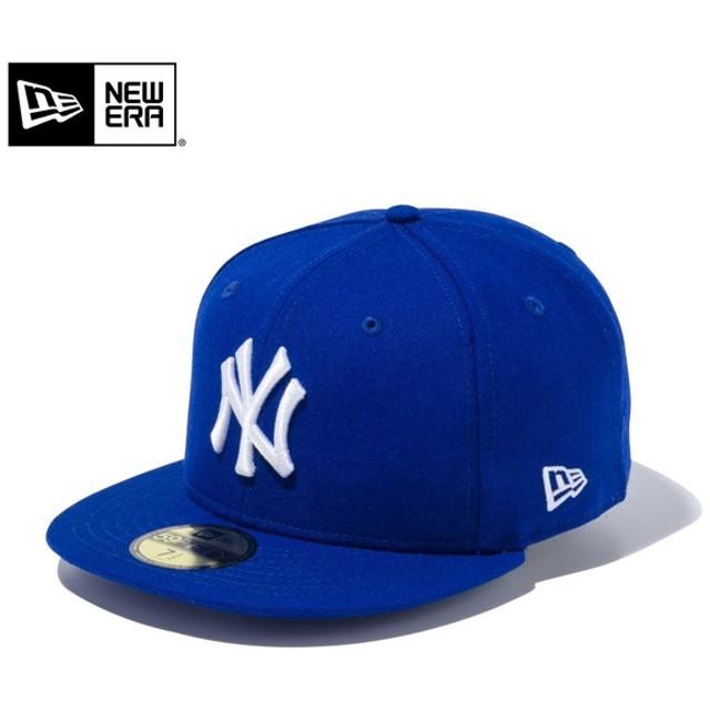 セール20%OFF!【メーカー取次】 NEW ERA ニューエラ 59FIFTY MLB ニューヨーク・ヤンキース ライトロイヤルXホワイト 11308550 キャップ ブランド