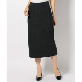 ICB / アイシービー 【セットアップ可】Woollen Rib スカート
