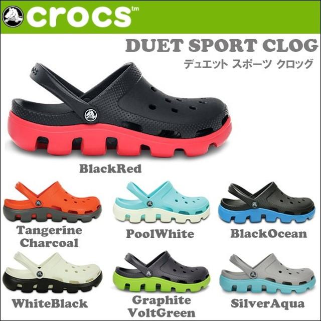 CROCS DUET SPORT CLOG サンダル crs-00715