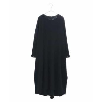 HIROKO BIS / ヒロコビス 【洗える】コクーンシルエットジャージードレス