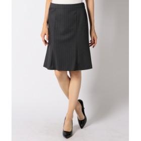 S size ONWARD(小さいサイズ) / エスサイズオンワード 【セットアップ対応】T/Wシャドーストライプ スカート