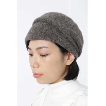 HUMAN WOMAN / ヒューマンウーマン アルパカ混ニット帽