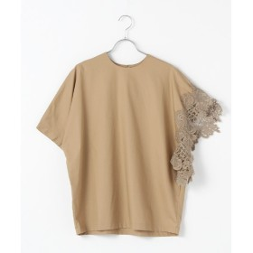 MARcourt / マーコート 【GINZA 6月号掲載】asymmetry point lace P/O