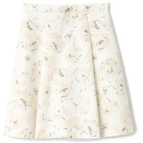 PROPORTION BODY DRESSING / プロポーションボディドレッシング  ドローイングフラワープリントスカート