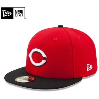 【メーカー取次】 NEW ERA ニューエラ 59FIFTY MLB On-Field シンシナティ・レッズ レッドXブラック 11449382 キャップ【Sx】