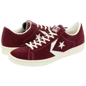CONVERSE PRO LEATHER SU OX コンバース プロ レザー SU OX BURGUNDY/WHITE