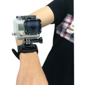 360度回転 マウント 手首ハンドストラップ バンドホルダー GoPro Hero 1 2 3 対応
