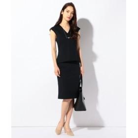 L size ONWARD(大きいサイズ) / エルサイズオンワード 【セットアップ可 / 洗える】Smooth Pinhead スカート