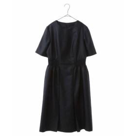 HIROKO BIS / ヒロコビス シャーリングデザインドレス
