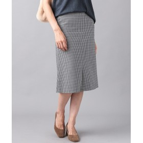 RIVE DROITE / リヴドロワ チェックミディタイトスカート