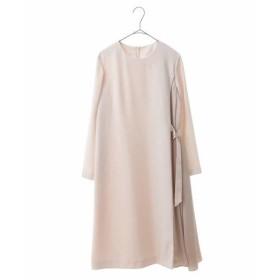 HIROKO BIS / ヒロコビス 【洗える】サイドドレープドレス