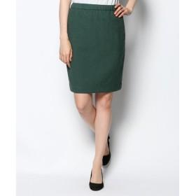 S size ONWARD(小さいサイズ) / エスサイズオンワード ('14秋)ラメスラブジャガードスカート