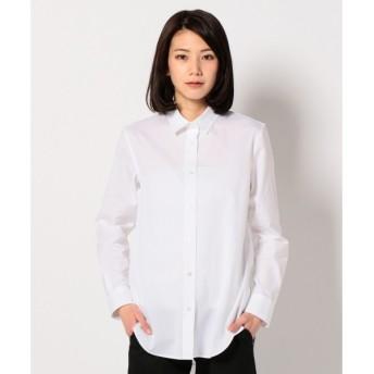 S size ONWARD(小さいサイズ) / エスサイズオンワード ギザプリマコットン シャツ