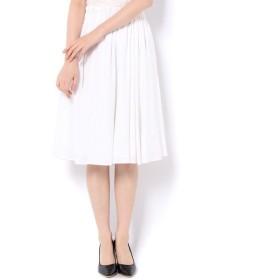 un dix cors / アンディコール リネンギャザースカート