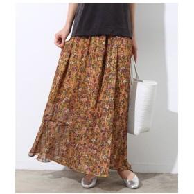 ROPE' / ロペ フラワープリントギャザースカート