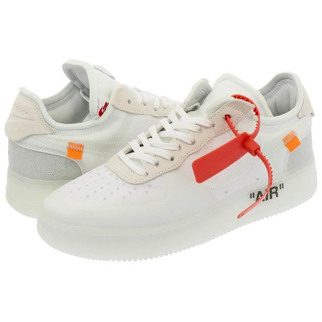 NIKE AIR FORCE 1 LOW 【OFF-WHITE】 【THE 10】 ナイキ エア フォース 1 ロー WHITE/WHITE/WHITE