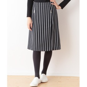 SHIPS for women / シップスウィメン ストライプジップポケットスカート
