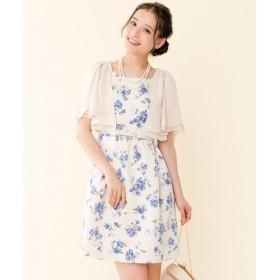 Feroux / フェルゥ 【手洗い可】フローラルジャガード ドレス