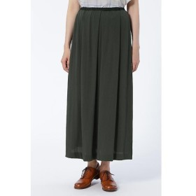 HUMAN WOMAN / ヒューマンウーマン コットンジャージマキシスカート