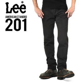 Lee リー AMERICAN STANDRD 201 ウエスターナー サテン ストレート パンツ ブラック(175) メンズ ズボン ブランド