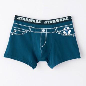 ボクサーパンツ パンツ メンズ インナー 肌着 前とじ ディズニー スター・ウォーズ R2‐D2&C‐3PO(デニム風) M L LL 3L