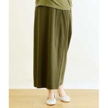 NIMES / ニーム リヨセル/コットンポンチ スカート