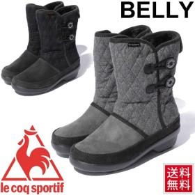 ルコック レディース ウィンターブーツ Le Coq Sportif BELLEY MID  2 靴 ミッドカット ミドル丈 防寒 雪道 女性 婦人 スノーシューズ カジュアル/BELLEY