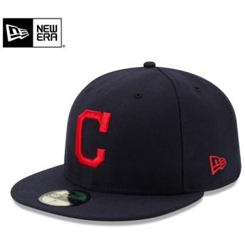 【メーカー取次】 NEW ERA ニューエラ 59FIFTY MLB On-Field クリーブランド・インディアンズ ネイビー 11449378 キャップ